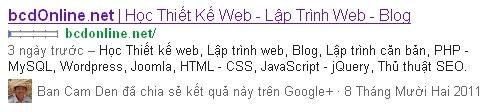 Tối ưu thẻ meta trong HTML