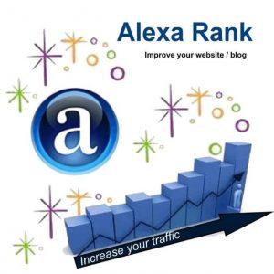 Lợi ích khi tăng Alexa Rank.