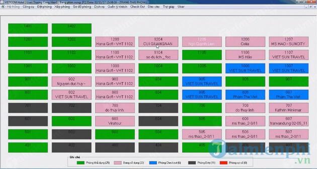 Phần mềm giúp nhiều cho chủ khách sạn