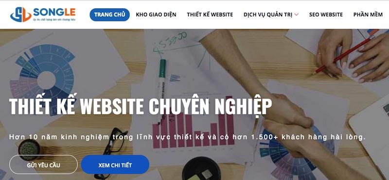 Thiết kế web Sóng Lê
