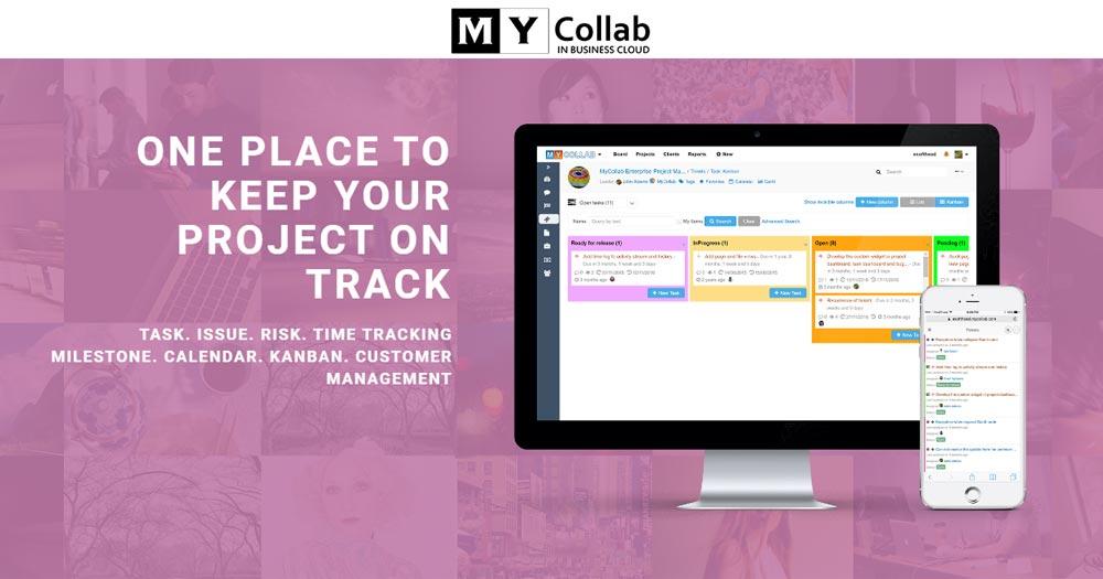 MyCollab- Ứng dụng theo dõi và quản lý dự án