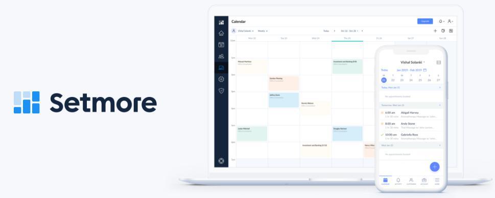 Phần mềm quản lý spa online Setmore