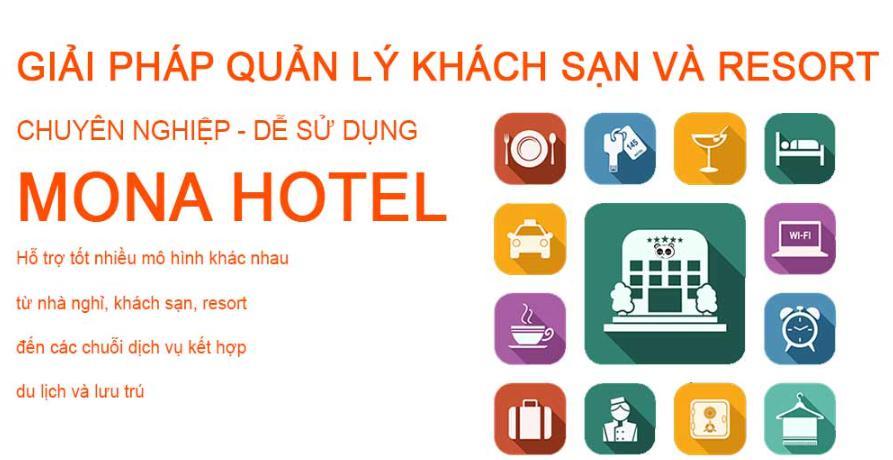 Phần mềm quản lý khách sạn tốt nhất Mona