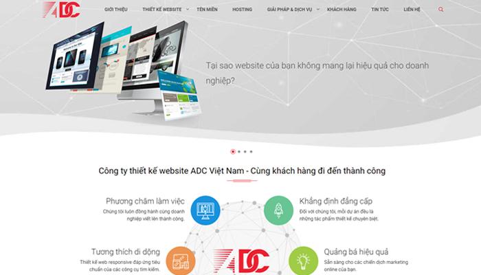 Công ty giải pháp website - ADC Việt Nam