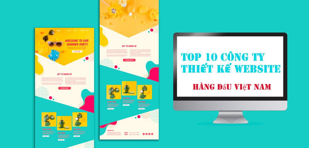 Top 10 công ty thiết kế website – lập trình web tốt nhất