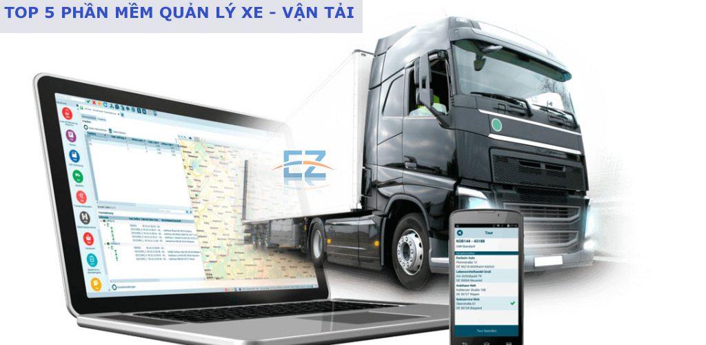 Top 5 phần mềm quản lý xe – quản lý vận tải